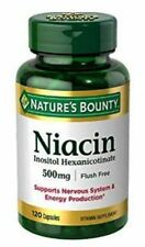 Nature's Bounty Niacin Flush Free 500 mg 120 caps