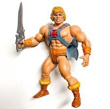 Masters of the Universe Origins He-Man Handsome Vintage Head Mattel MOTU