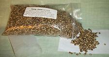 Hemp Seed canary finch bird seed treat breeder food 1 1/2 cups free shipping
