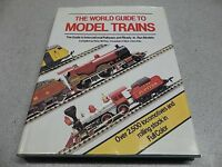 """The World Guide to Model Trains"" Peter McHoy, 1983 Railroad Book 0-517-410362"