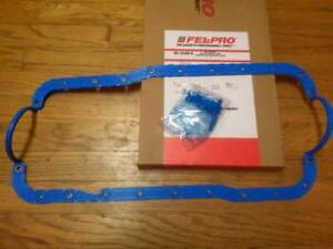 Engine Oil Pan Gasket Fel-Pro OS34508R 86-01 FORD MUSTANG 5.0/302 $WINTER SALE!$