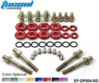RACING Engine Valve Cover Washers Bolts Kit JDM For HONDA B-Series H-Series