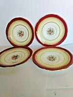 Vintage Paragon Fine Bone China Delphi Saucers (4 saucers) .3092/1