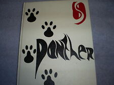 1969 Monticello High School (Iowa) Panther Yearbook Annual - Nice!