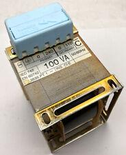 100vA Panel Transformer Single Phase 240v Primary 110v Secondary 50/60Hz