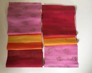 Designers Guild Baumwolle Stoffreste 2 Stück 21cm x 137cm Kissen, Taschen