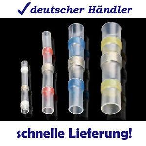Lötverbinder Schrumpfverbinder Kabelverbinder Stoßverb. schrumpf wasserdicht Set