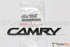 Toyota Camry 2002-2006 Black CAMRY Trunk Emblem Genuine OEM  75442-33260