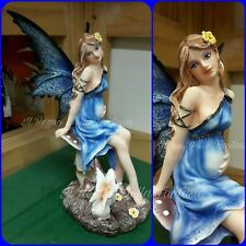 FAIRY FAIRIES LAND ELFEN FEES FATA INCINTA BLU MAMA COLLECTION NO LES ALPES