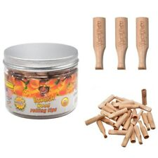 60 Pack HONEYPUFF Mango Honey Woods Flavored 40MM Filter Tips Smoking Mouth Tips