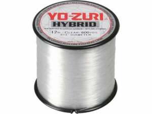 Yo-Zuri Hybrid Fishing Line Clear 600yds Fluoro-Nylon Fishing Line
