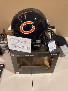 Autographed Jim McMahon Signed Replica NFL Chicago Bears Helmet Beckett COA