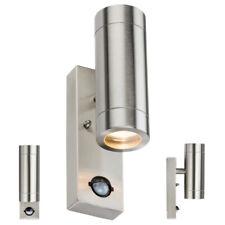 Modern IP44 Wall Light Up Down Garden PIR Motion Sensor Outdoor Outside Patio