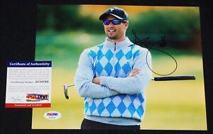 ADAM SCOTT Signed PGA GOLF 8x10 photo 2013 Masters Champ + PSA COA AF20760