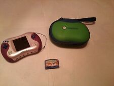LeapFrog Leapster2 Learning Game System, Pink  WITH CARRY CASE AND 1 GAME