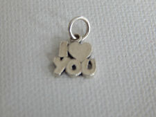 Sterling Silver James Avery I Love You Charm
