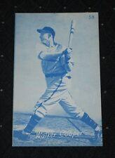 1935 Canadien Exhibit Walker Cooper (St Louis Cardinals)-Blue Tint-NM/MT
