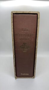 The Jerusalem Bible 1966 Doubleday First Edition Red Hardcase Cover Vintage