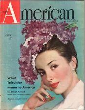 1948 American April - Billy Rose; Worthington MN makes peace;Bound Brook NJ kids