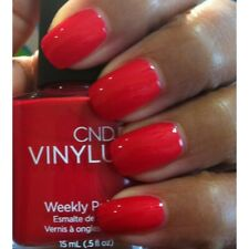 CND VINYLUX Weekly Nail Polish #119 Hollywood .5oz/15mL new red
