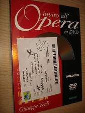 INVITACIÓN EN LA ÓPERA EN DVD N°75 OBERTO CONTE SAN BONIFACIO OPERA DE BILBAO