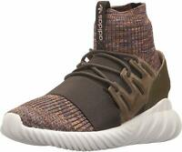 adidas Originals Men's Tubular Doom PK Running Shoe, Brown, Size 10.0