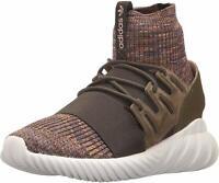adidas Originals Men's Tubular Doom PK Running Shoe, Brown, Size 10.0