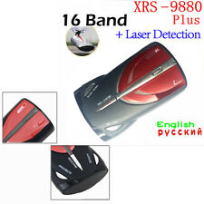 Car 16-Band GPS Laser Detection Voice Alert Radar Detector Cobra XRS 9880 Laser