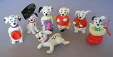 Disney 101 Dalmatians McDonalds Happy Meal Lot Of 7 Clean Never Played With