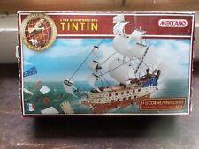 boite MECCANO Tintin la licorne 0553