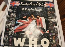 The Who The Kids Are Alright 1979 Original Huge Poster 36X36