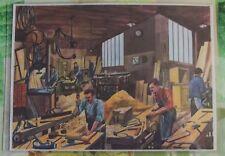 Décoration Murale,Set de Table 42 x 30 cm la Menuiserie,Ébénisterie,travail du B