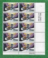 PLATE BLOCK OF 10 SKY LAB SCOTT #1529  1974 ISSUE  10CENT  MNH  OG