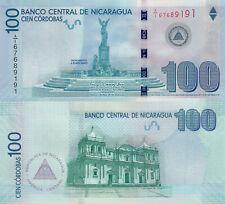 Nicaragua 100 Córdobas Commemorative (2012) - 100 Yrs. of Central Bank/p208 UNC