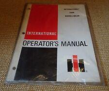 IH 2400 bigroll Botteleuse Operators Manuel (Nouveau)