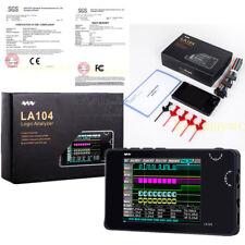 Nuevo Mini Digital Tamaño de Bolsillo LA104 Lógico Analizador 4 Canales 100mhz