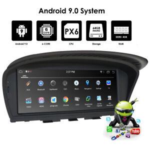 "Android 9.0 Car Radio 8.8"" GPS Nav for BMW 3 5 Series E60 E90 (2005-2008) CCC"