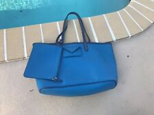 MARC by MARC JACOBS BLUE HOBO SHOULDER BAG PURSE WITH ENVELOP