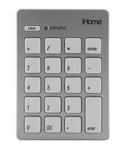 iHome IMACA201W Numeric Pad Bluetooth Keypad for Mac