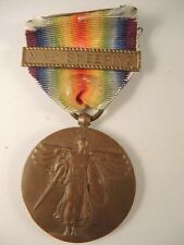 WW I victory medal with mine sweeping bar not named