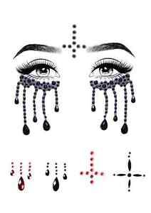 Possessed Face Jewels Leg Avenue Eye038