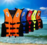 Safety Adult Swimming Buoyancy Aid + Whistle Foam Life Jacket Vest Kayak Sailing