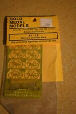 Gold Medal Models 87-10 - HO Scale Bicycles and Bike Rack NEW