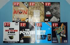 FOREIGN POLICY Magazine ~ 7 qty. issues -- Nov. 2012 - Oct. 2013
