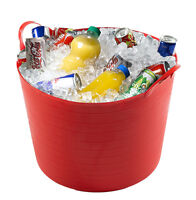 26 LITRE / LTR SMALL PARTY BUCKET / BEER / DRINKS / FLEXI / STORAGE TUB
