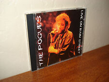 The Pogues - Live on Rain Street (CD, Swingin' Pig) Leysin, Switzerland - OOP