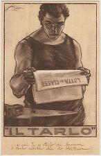 GIORNALE IL TARLO LOTTA DI CLASSE - ILLUSTRATORE MAZZA - PNF ELEZIONI 1921