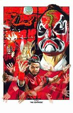 Five Deadly Venoms- Centipede, Lu Feng Shaw Brothers kung fu original art poster