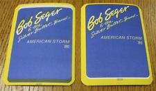 UNUSED Genuine OTTO Backstage Pass Bob Seger American Storm Tour 1986 MISPRINTS!