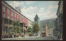 Postcard Mauch Chunk PA American Hotel view 1907?